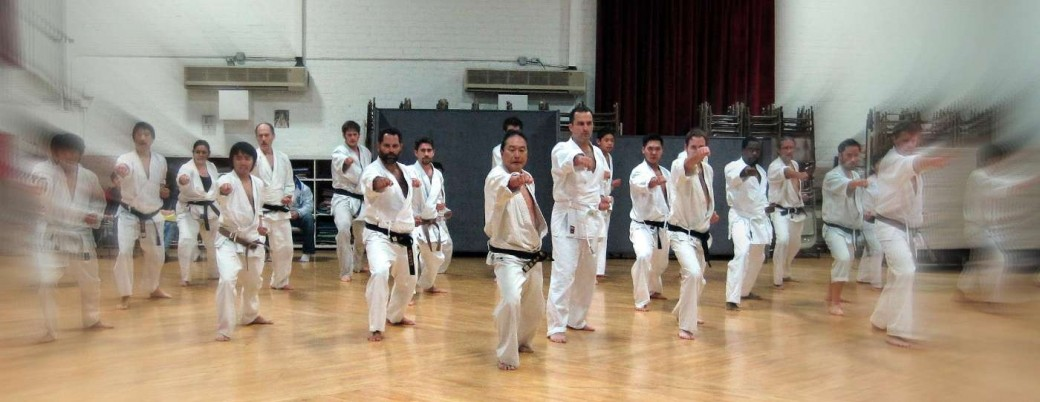 Maryknoll Karate Club was founded in 1963 by Tsutomu Ohshima. We welcome you to practice with us today!
